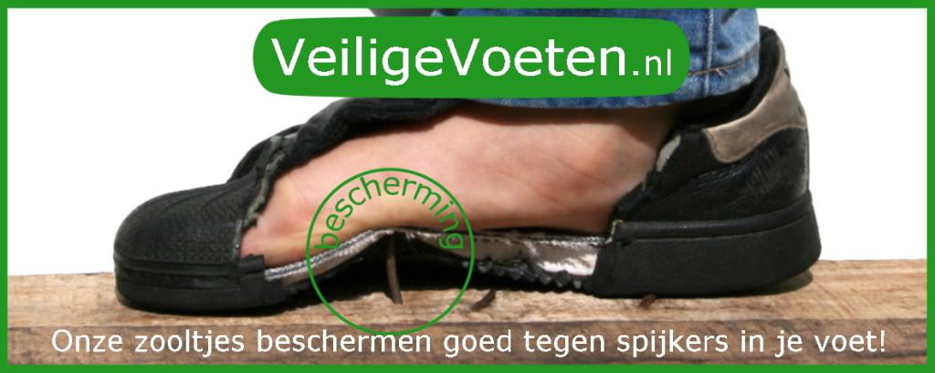Veilige Voeten, onze zooltjes beschermen goed tegen spijkers in je voet!
