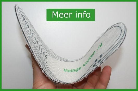 Veilige voeten: Meer informatie over de inlegzooltjes van veiligevoeten.nl
