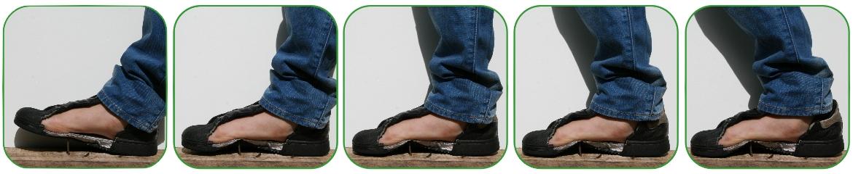Veilige voeten anti-perforatie inlegzolen beschermen de voet tegen scherpe objecten.