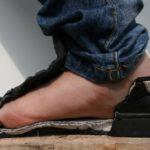 De veiligheidszool beschermt de voet, foto 8 van 8.