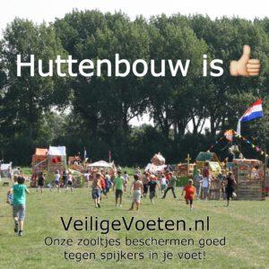 Bestel gratis de sticker van VeiligeVoeten.nl om de veiligheidszooltjes onder de aandacht te brengen!