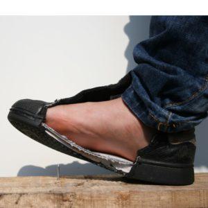 Veilige voeten: Als je per ongeluk in een spijker stapt...