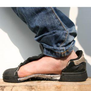 Veilige voeten: Goede bescherming door de veiligheidszool.