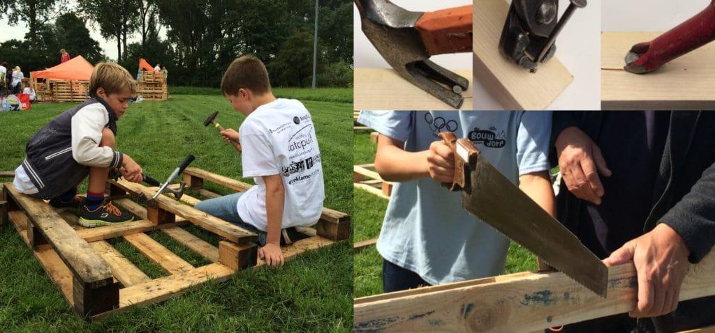 Hoe maak je handig planken van pallets